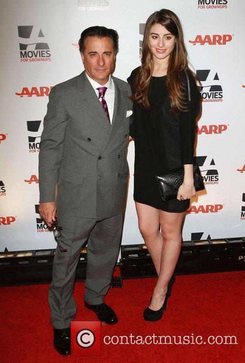 Andy Garcia his daughter, Dominik Garcia-Lorido AARP The...