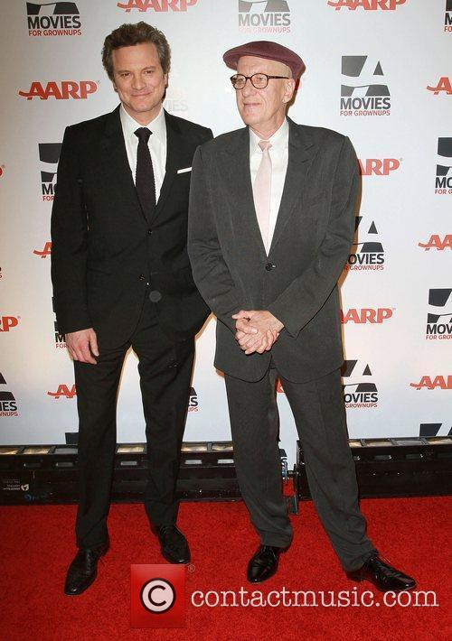 Geoffrey Rush and Colin Firth AARP The Magazine's...