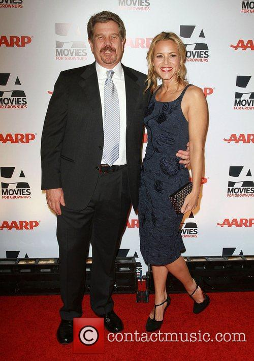John Wells and Maria Bello AARP The Magazine's...