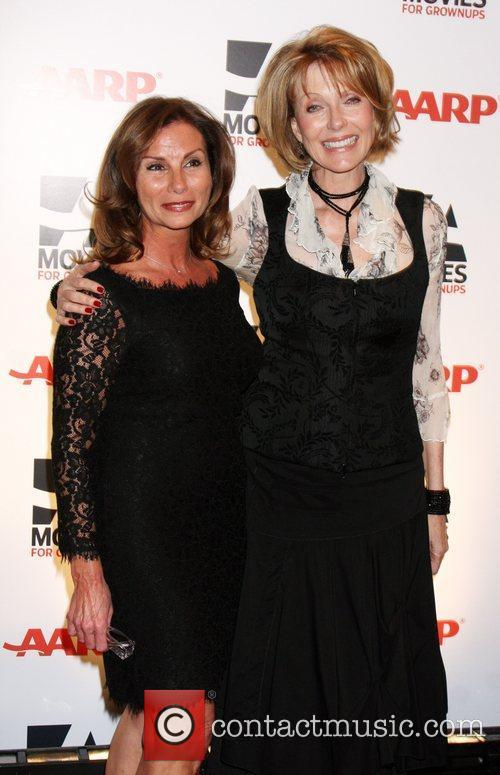 Susan Blakely and Guest AARP The Magazine's 10th...