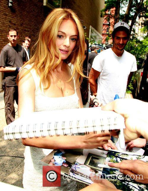 Heather Graham leaving ABC Studios after appearing on...