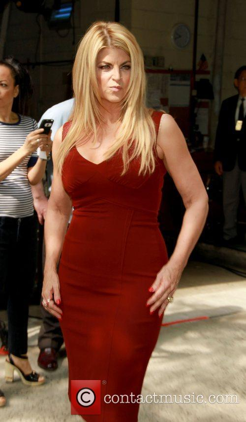 Kirstie Alley leaving ABC Studios after appearing on...