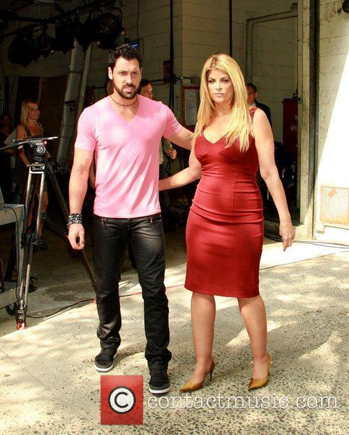 Maksim Chmerkovskiy and Kirstie Alley 1