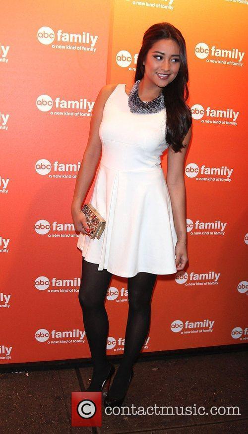 Shay Mitchell  ABC Family 2011 Upfronts season...