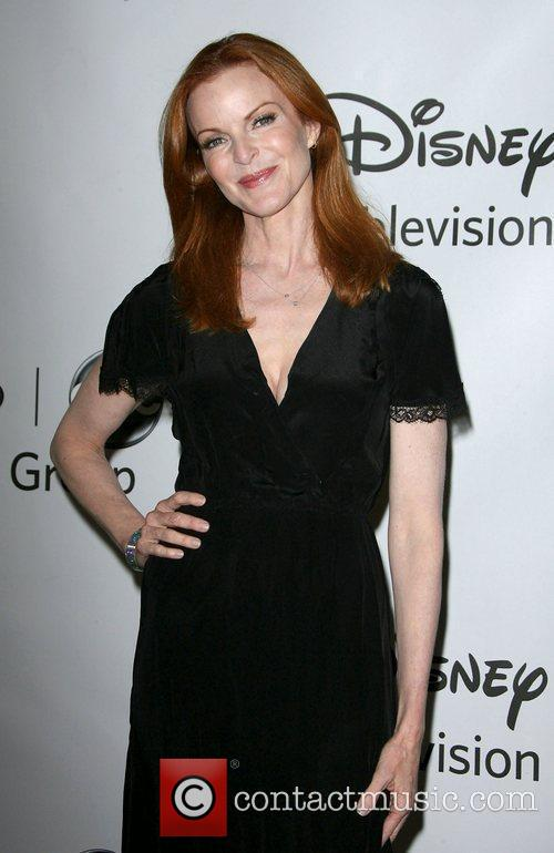 Marcia Cross Disney ABC Television Group Host Summer...