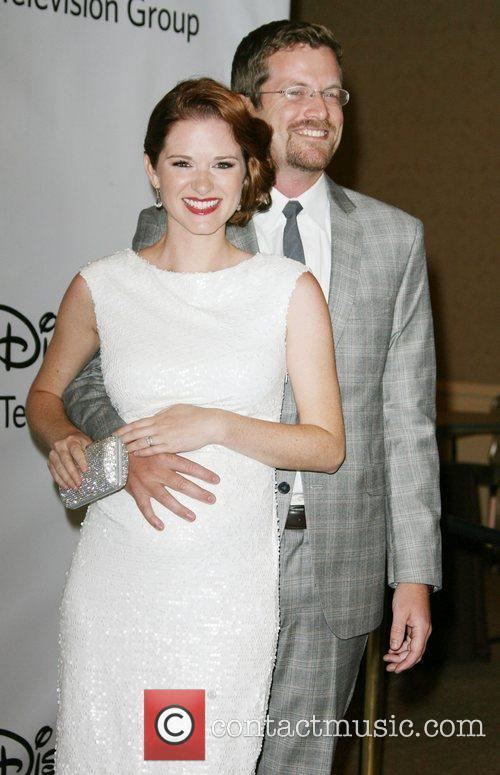 Sarah Drew and Guest Disney ABC Television Group...