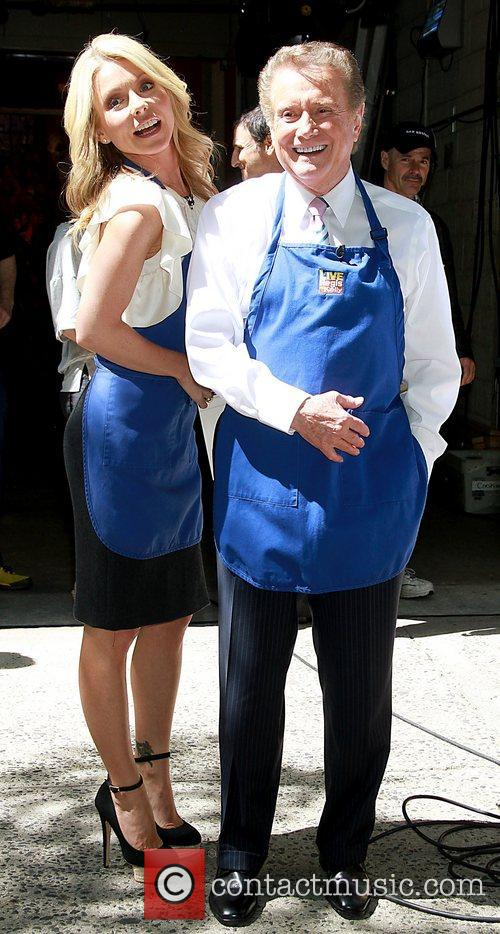 Kelly Ripa and Regis Philbin 2