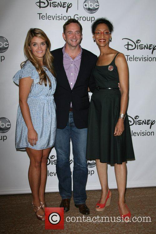(l-r) Daphne Oz, Clinton Kelly and Carla Hall...