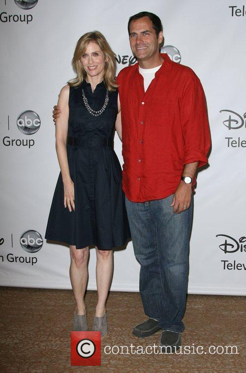 Helen Slater, Andy Buckley, Beverly Hilton Hotel