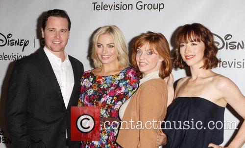 Michael Mosley, Karine Vanasse and Kelli Garner 2