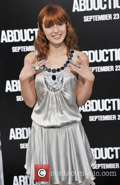 Bella Thorne  The premiere of 'Abduction' held...