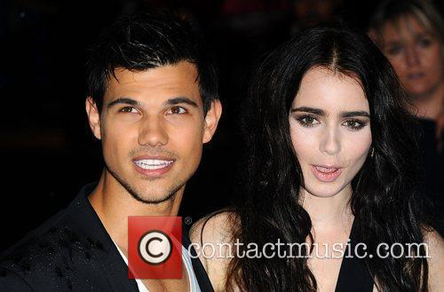 Taylor Lautner and Lily Collins 3