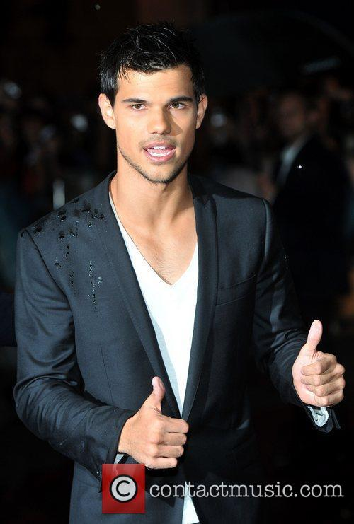 Taylor Lautner UK premiere of 'Abduction' held at...