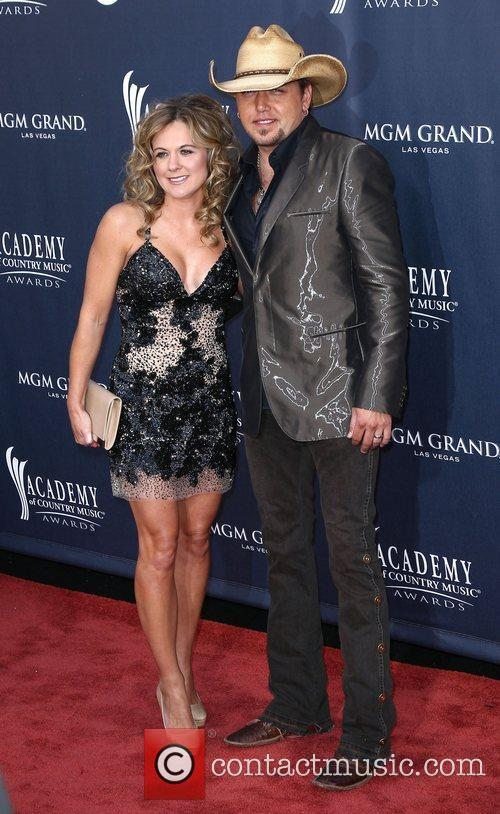 Jessica Aldean, Jason Aldean The Academy of Country...