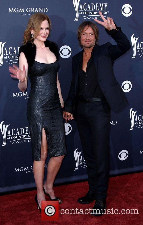 Nicole Kidman, Keith Urban The Academy of Country...