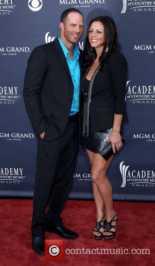 Jay Barker, Sara Evans The Academy of Country...