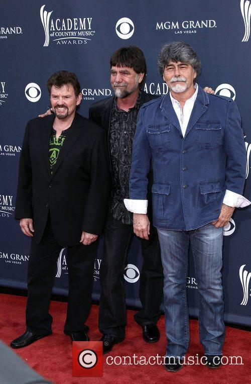 Alabama 2011 ACM Awards Red Carpet At MGM...