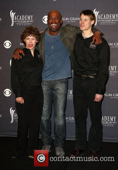 Betsy James, Darius Rucker and Jimmy Clarke The...
