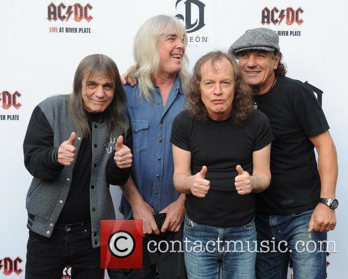 AC/DC at the Premiere of 'AC/DC - Live at River Plate' in 2011