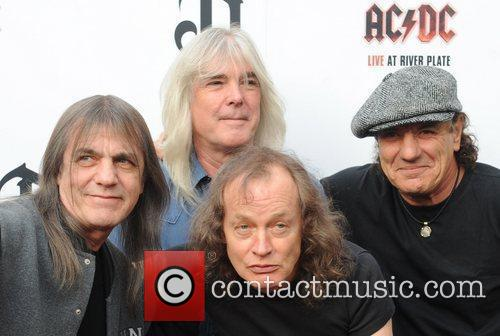 Angus Young, Ac Dc and Brian Johnson 5
