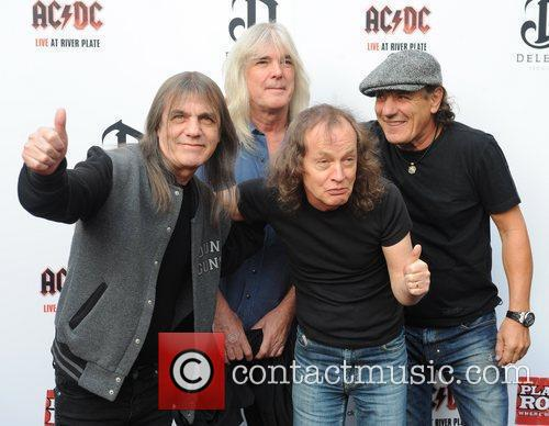 Angus Young, Ac Dc and Brian Johnson 6