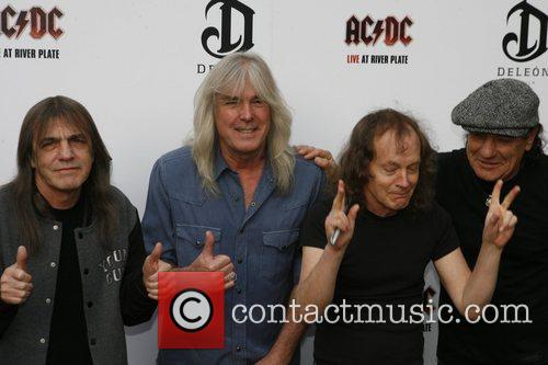 Angus Young, AC DC and Brian Johnson 12