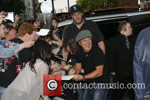 Angus Young, AC DC and Brian Johnson 14