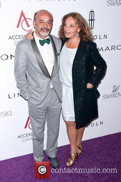 Christian Louboutin, Diane Von Furstenberg 15th Annual ACE...