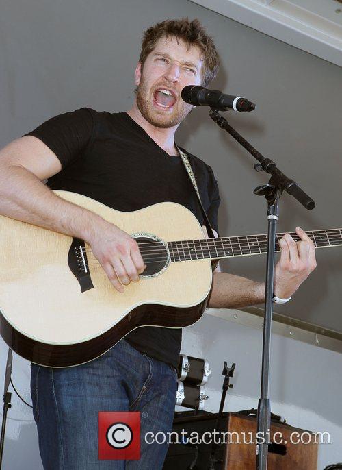 Brett Eldredge ACM USO Concert at Nellis Air...