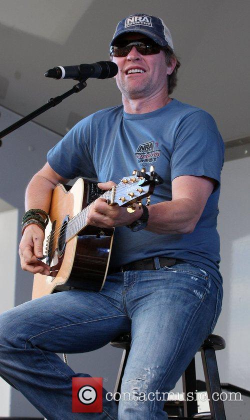 Craig Morgan ACM USO Concert at Nellis Air...