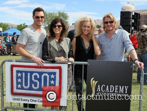 ACM USO Concert at Nellis Air Force Base