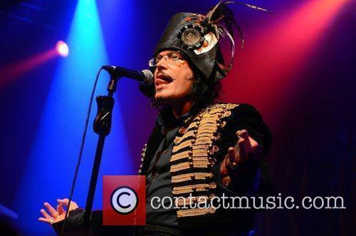Adam Ant performs live at Vicar Street Dublin,...