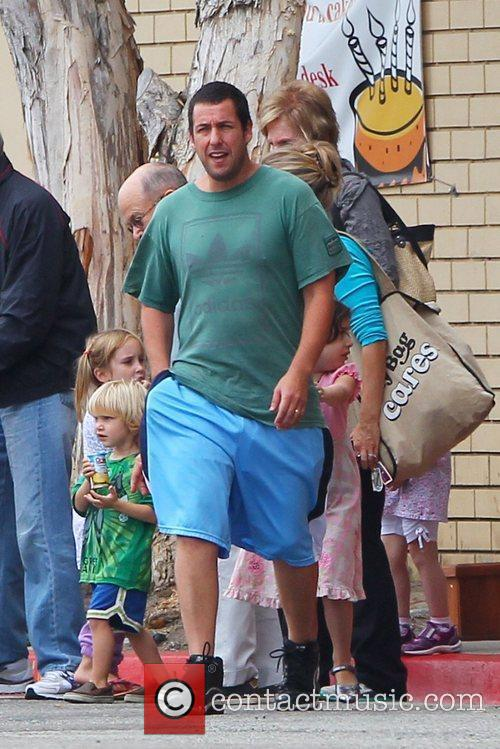 Adam Sandler out and about in Beverly Hills...