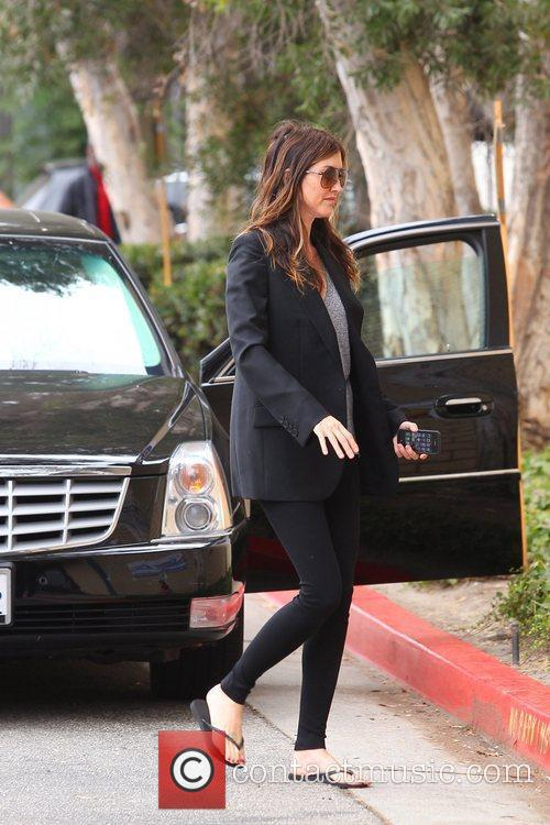Adam Sandler's pregnant wife Jackie Sandler out and...