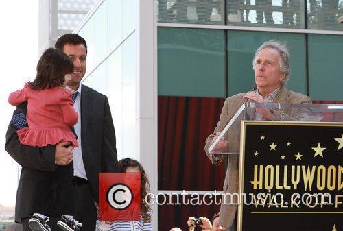 Adam Sandler and Henry Winkler 3