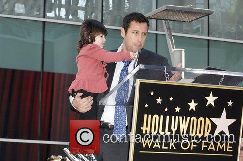 Adam Sandler with his daughter Sunny American Hollywood...