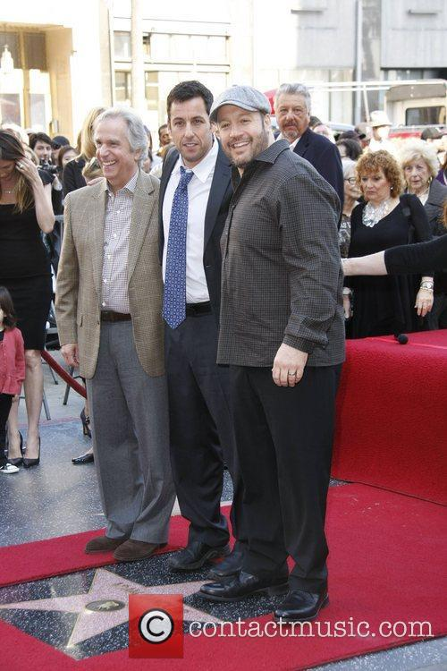 Henry Winkler, Adam Sandler and Kevin James 4