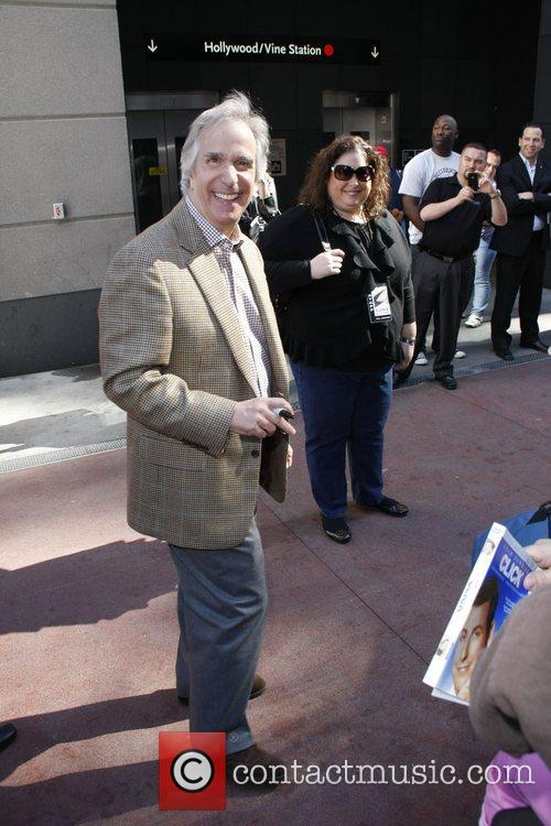 Henry Winkler and Adam Sandler 7