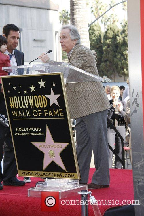 Henry Winkler and Adam Sandler 1