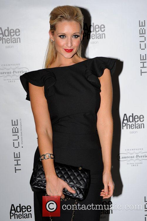 Catherine tyldesley adee phelan 39 s new salon launch at for Adee phelan salon