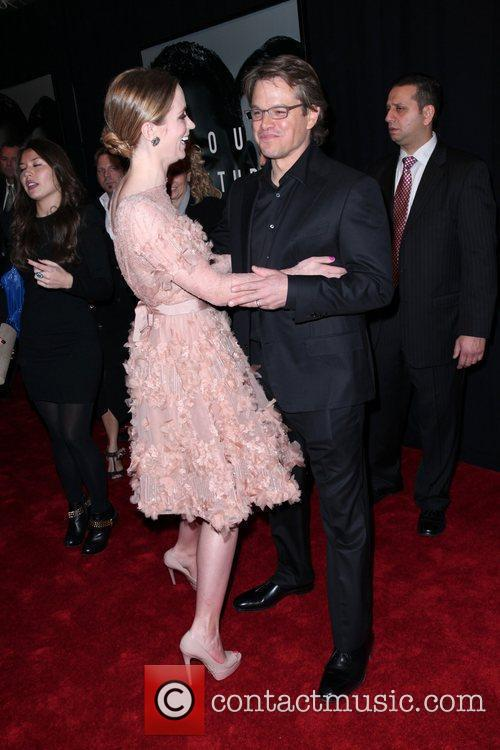 Emily Blunt and Matt Damon 11
