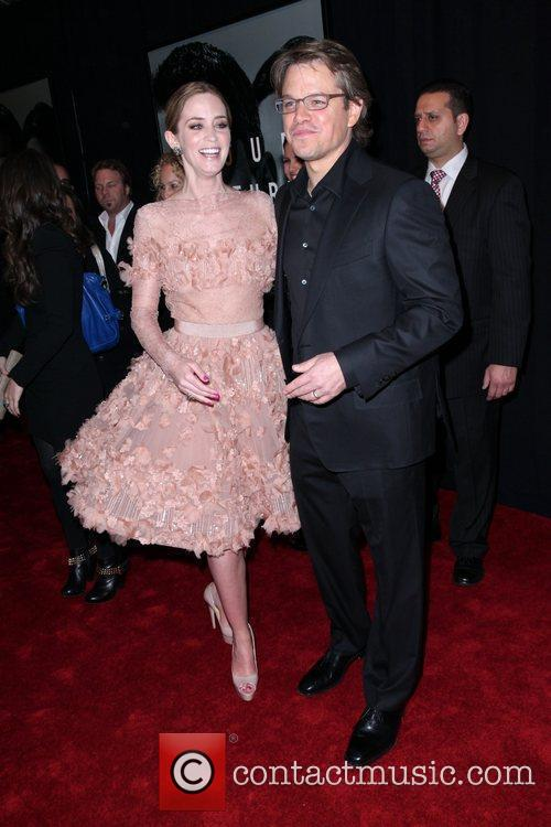 Emily Blunt and Matt Damon 10