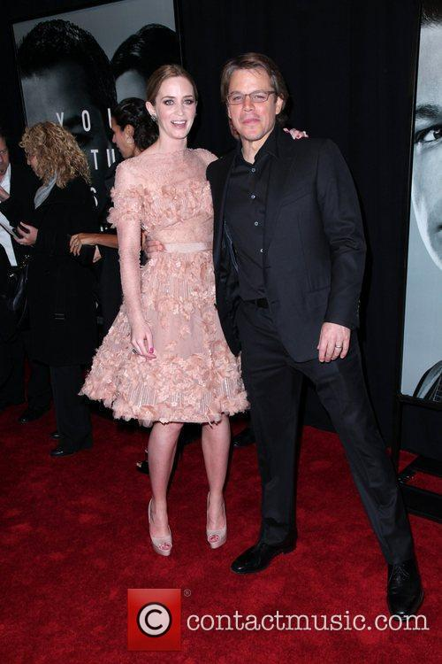 Emily Blunt and Matt Damon 5