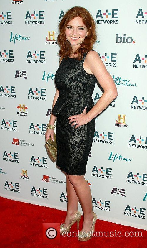 Brigid Brannagh A&E Television Networks 2011 Upfront, held...