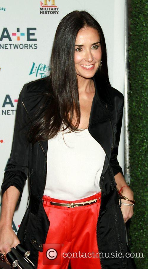 Demi Moore A&E Television Networks 2011 Upfront, held...
