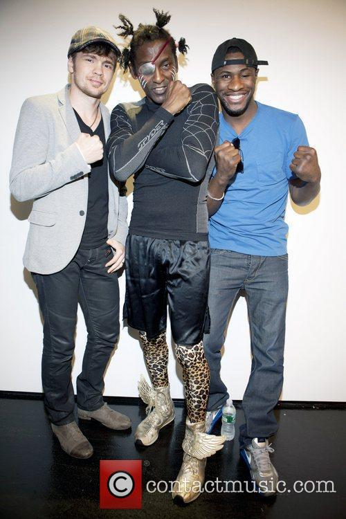 Yuri Foreman, Michael Olajide and Eric Kelly...