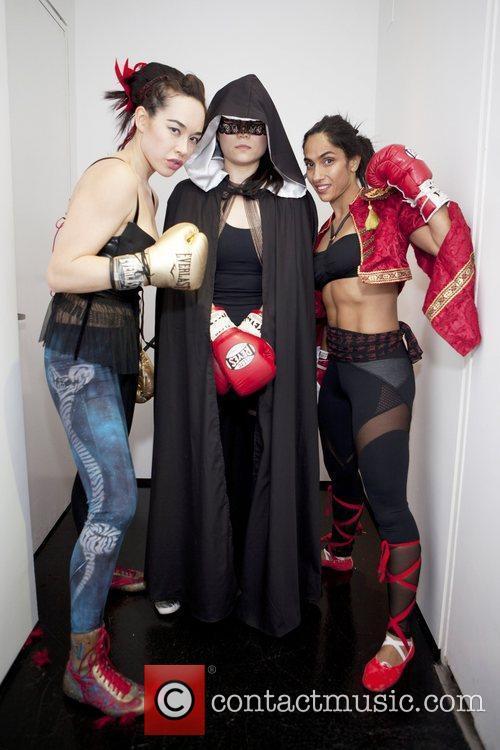 Yurika Foster, Carol Ju , Leila The Flash...