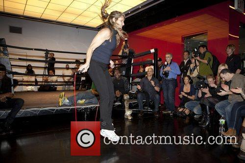 Michele Heary (Jump Rope Competition) Aerospace Celebrity Benefit...