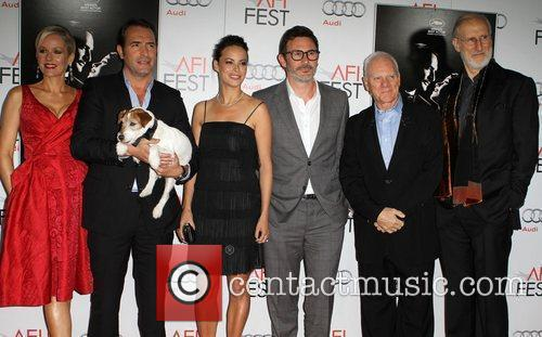 Berenice Bejo, James Cromwell, Jean Dujardin, Malcolm Mcdowell, Penelope Ann Miller and Grauman's Chinese Theatre 10