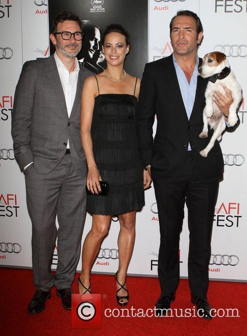 Michel Hazanavicius, Bérénice Bejo, Jean Dujardin AFI Fest...